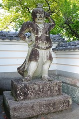 大慈禅寺の阿形像