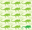 Wallpaper images of chameleon - vector, Illustrations