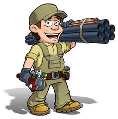 Handyman - Plumber Khaki