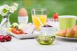 frühstücksauswahl