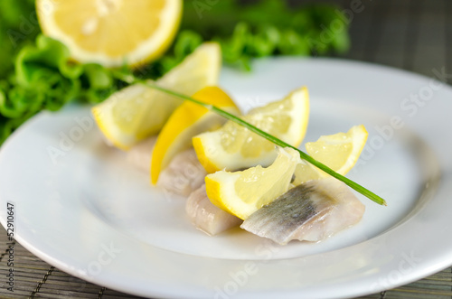 Herring filet