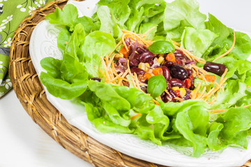 Vegetarian Salad. Mixed salad