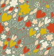 Materiał do szycia Abstract seamless pattern with many cute details