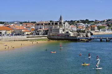Vacation in scenic Cascais, Portugal