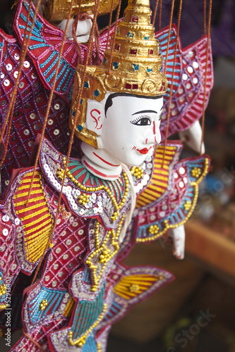 Traditional Myanmar puppet