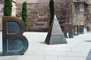 Barcino. Plaza de la Catedral. Barcelona