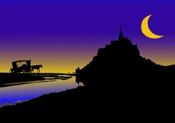 Favola a Mont Saint Michel