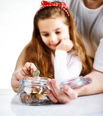 Kind mit den Münzen