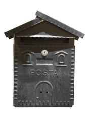 Cassetta della posta in ferro