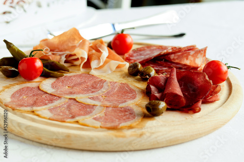 assorted italian meat