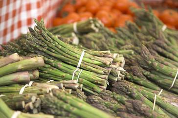 Farmer's Market Asparagus and Tomatoes