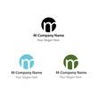 "Company Logo ""M"""