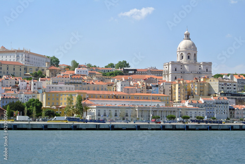 View on historic Lisbon, Portugal