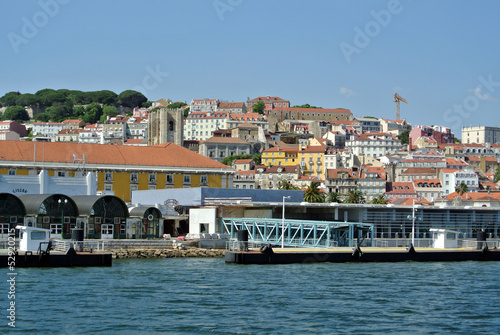 View on Alfame, Lisbon Portugal