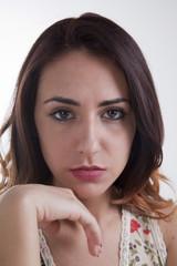Giovane donna italiana
