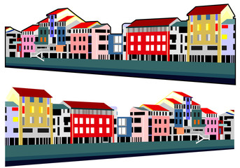 houses embankment
