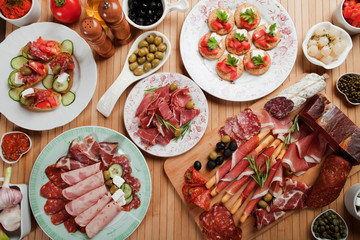 Antipasto food
