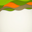 Vector Illustration of a Colorful Background