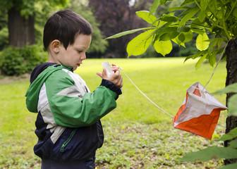 Child orienteering