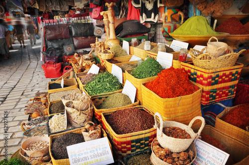 Foto op Aluminium Tunesië Spice market