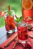 Spicy Strawberry Sangria