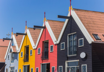 Colored houses of Zoutkamp