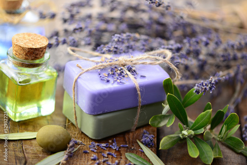 Seife, Lavendel
