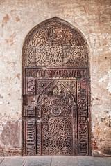 Ethnic old door