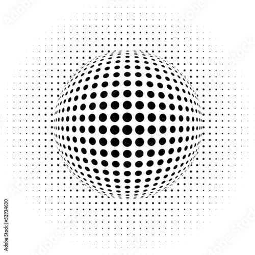 abstract background - optical illusion