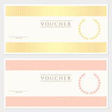 Gift certificate / Voucher / Coupon) template. Check