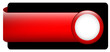 BLANK web button (rectangular red white icon arrow)
