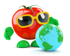 Tomato plans his global empire
