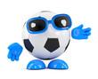 3d Football reaches out