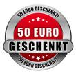 5 Star Button rot 50 EURO GESCHENKT DTO DTO
