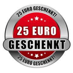 5 Star Button rot 25 EURO GESCHENKT DTO DTO
