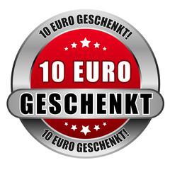 5 Star Button rot 10 EURO GESCHENKT DTO DTO