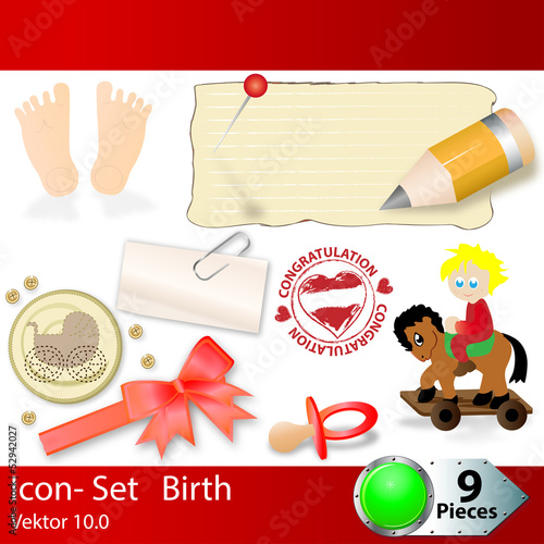 Icon - Set Birth