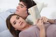 A teenage couple
