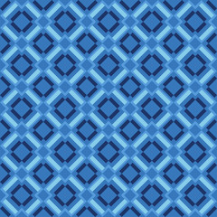 Seamless geometric pattern in retro style.