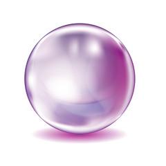 bulle violette