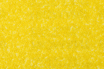 Background texture of yellow sandpaper