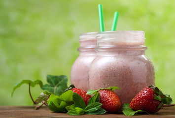 Strawberry smoothie - Frullato di fragole