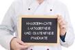 Hausgemachte laktosefreie und glutenfreie Produkte