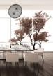 Modern Design White Dining Room   Interior Architecture