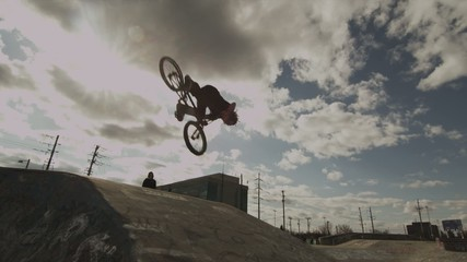 BMXer Backflip