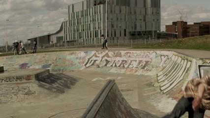 Skateboard Extreme Flip