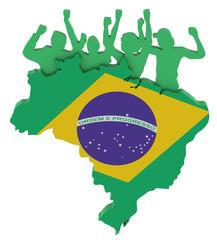 Jubel in Brasilien