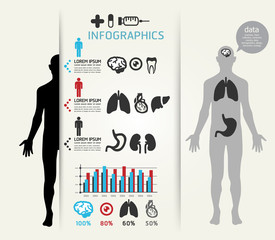 Medical Infographic Design template / can be used for infographi