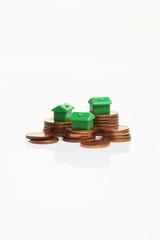 Geldmünzen, Monopoly-Häuser 1