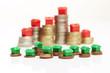 Geldmünzen, Monopoly-Skyline 2